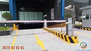 Barrier tự động tòa nhà NEWLIFE Tower Hạ Long