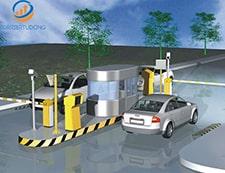 Barie cần thẳng trong hệ thống kiểm soát xe thông minh
