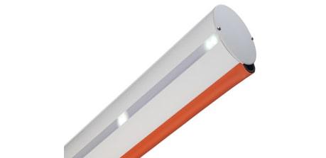 Cần barie TAU lắp đèn led