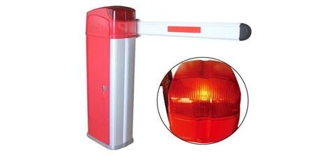 Barie tự động Baisheng BS 3306 màu đỏ